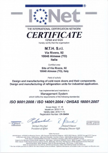 Unsere Zertifikate: ISO9001  ISO14001  OHSAS18001