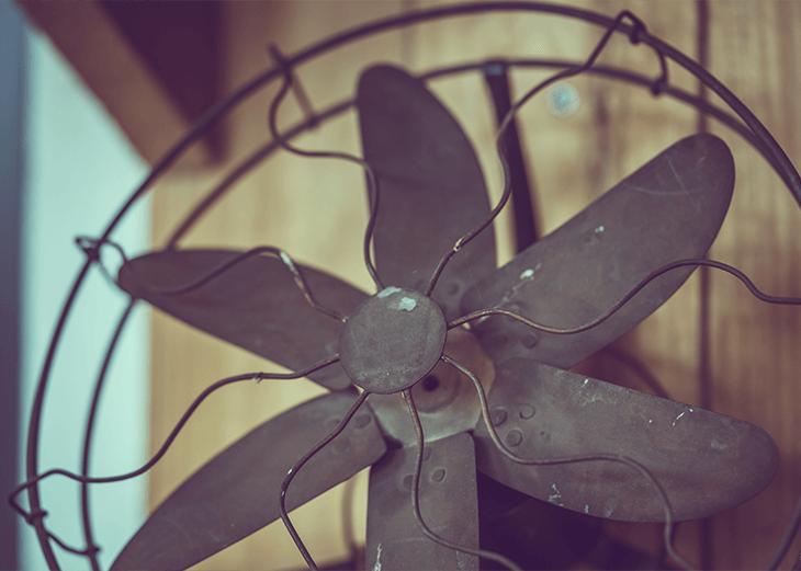 Blogartikel Ventilator alter Ventilator