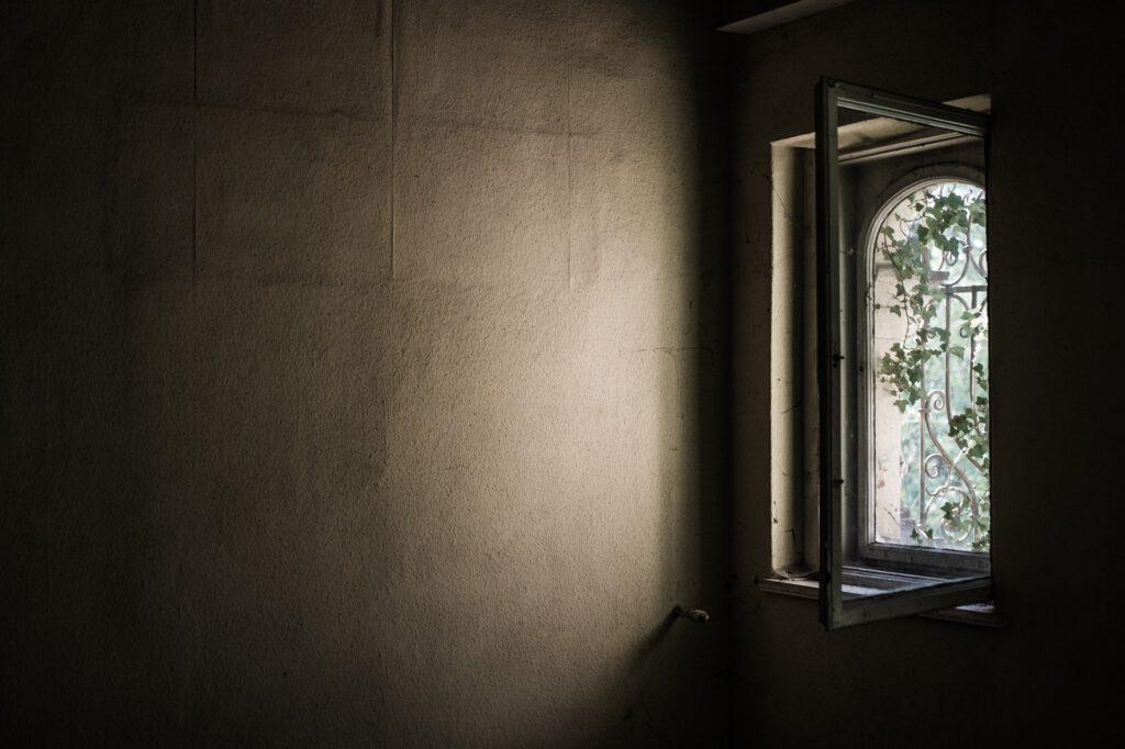 Blogartikel Ventilator altes Fenster