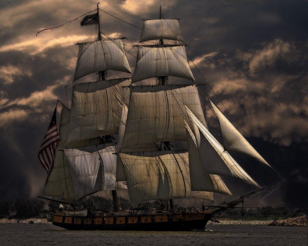 Blogartikel Ventilator Segelschiff