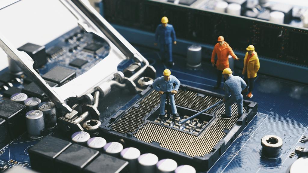 KühlEx PC-Kühlung Bauarbeiter Mainboard