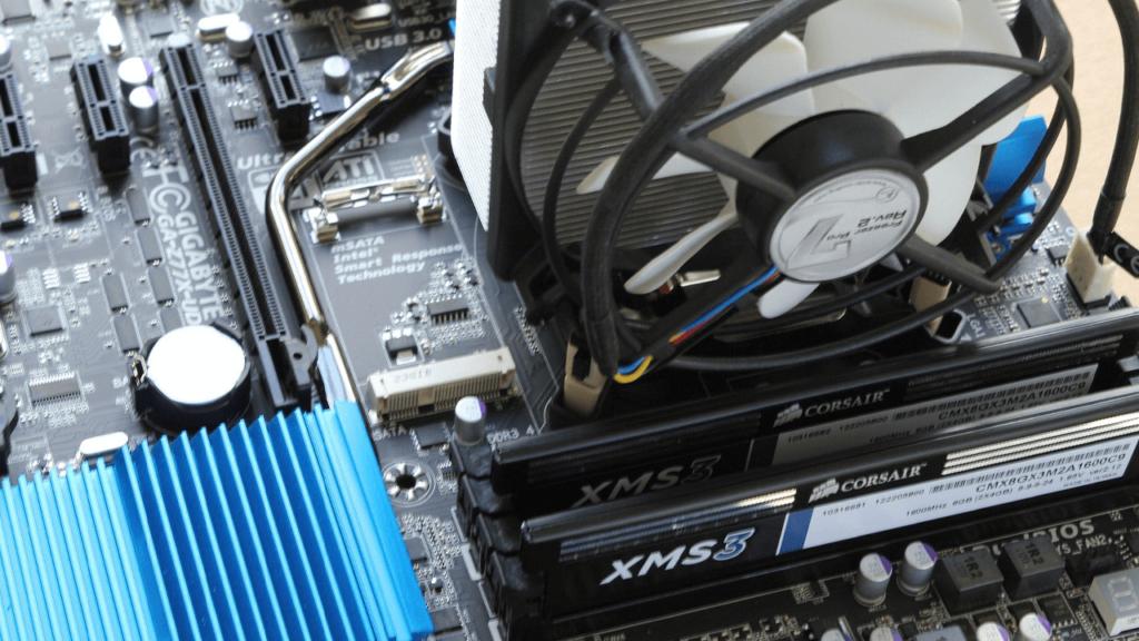 KühlEx PC-Kühlung Lüftung an Grafikkarte